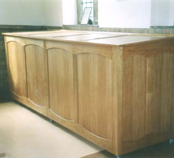 altar frontal chest